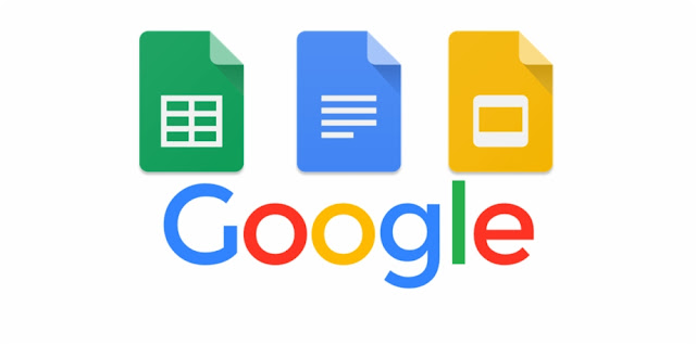 google sheets google docs google slides