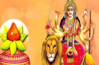 navratri images for drawing