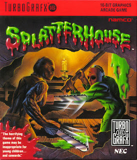 Jogue gratis Splatterhouse para Turbografx retrogame online