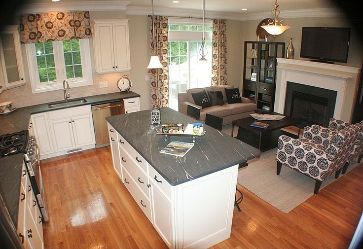 open concept small kitchen living room open concept kitchen living room small space 25043