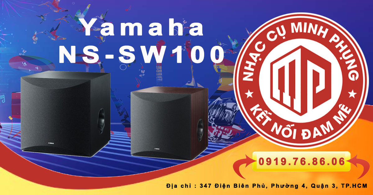 Loa siêu trầm Yamaha NS-SW100