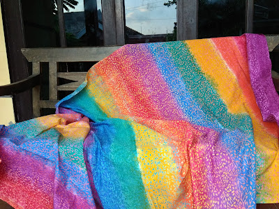 batik cap pelangi