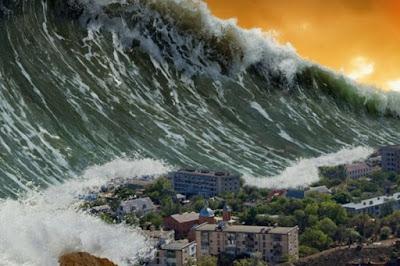 Contoh Teks Eksplanasi Tentang Fenomena Alam | Proses Terjadinya Tsunami