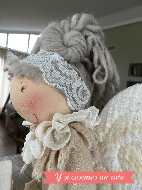 pelo muñeca pigottine di Vanda