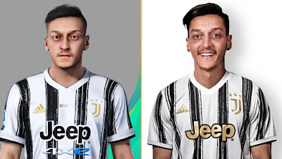 PES 2021 Faces Mesut Ozil