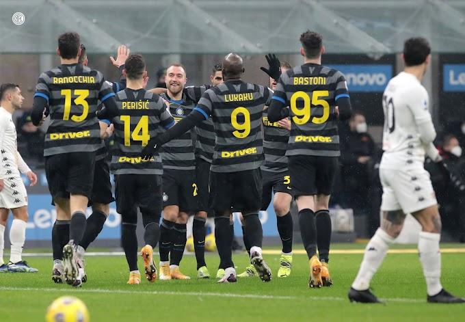 Serie A: troppa Inter, Benevento annichilito e di nuovo a -2 dal Milan