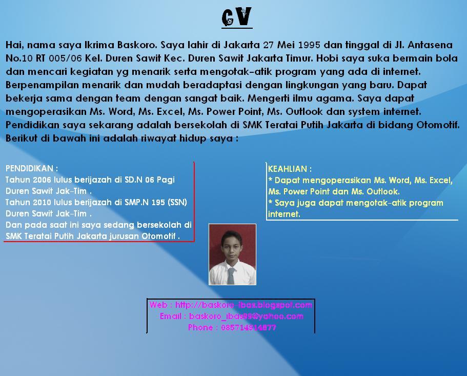 Contoh Judul Skripsi Pendidikan Bahasa Inggris Terbaru Kumpulan Judul Contoh Skripsi Bahasa Inggris << Contoh Pin Contoh Curriculum Vitae Cv Bahasa Indonesia Ditulis On Pinterest