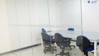 Conference Room Frosted Stickers - Toyota