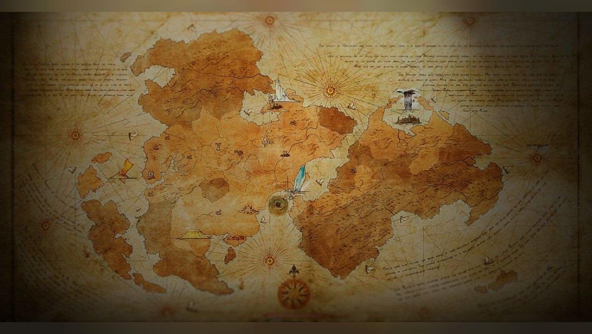 Final Fantasy XVI world map published.