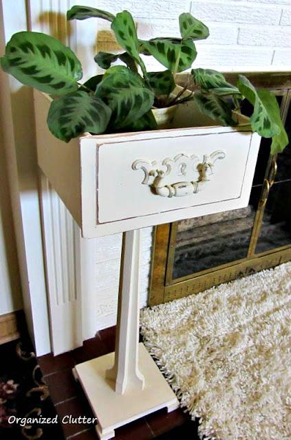 Photo of a pedestal drawer planter