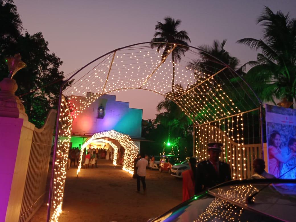 Mirchi Tunel lighting decoration kerala
