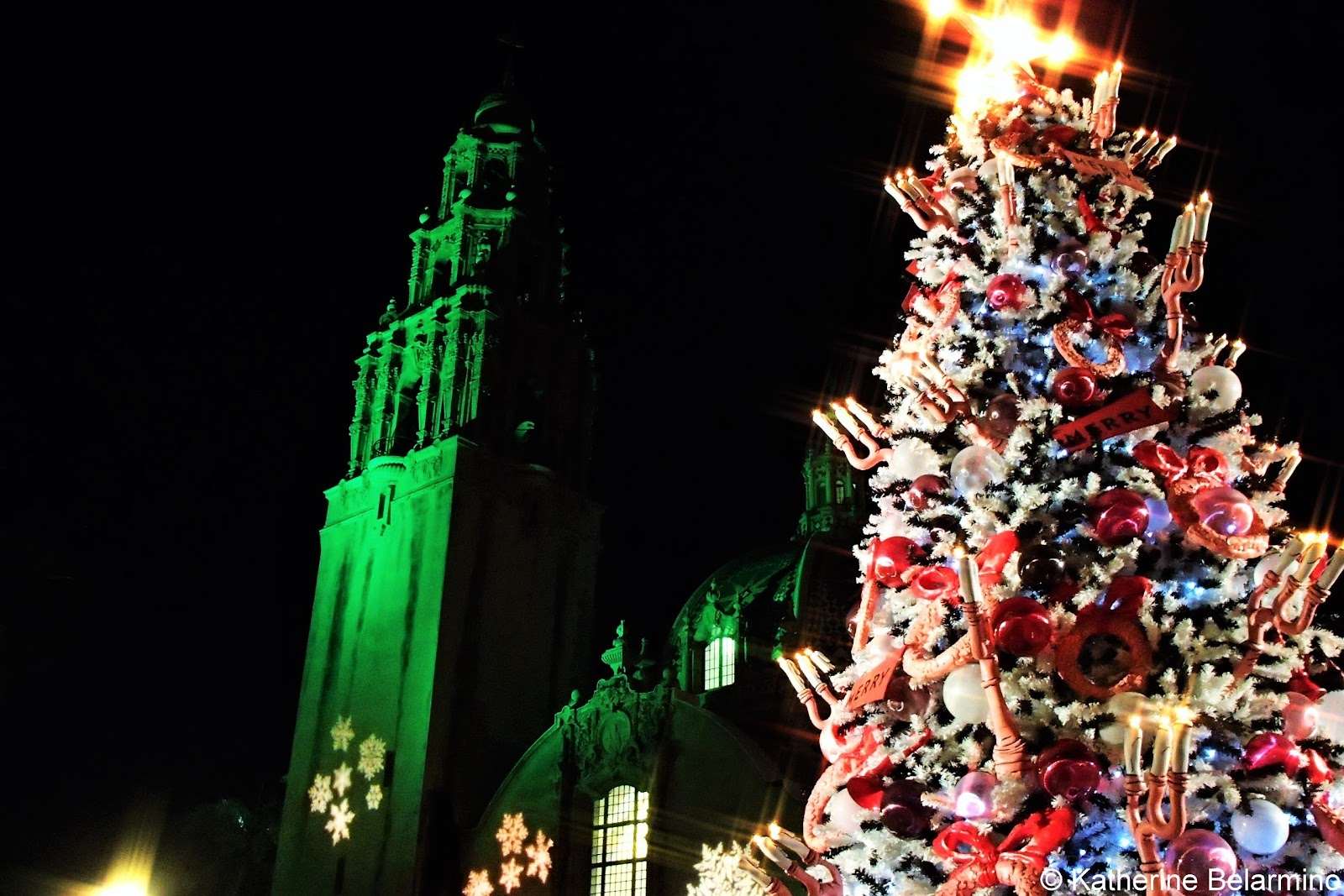 grinch christmas tree balboa park san diego - Balboa Park Christmas Lights