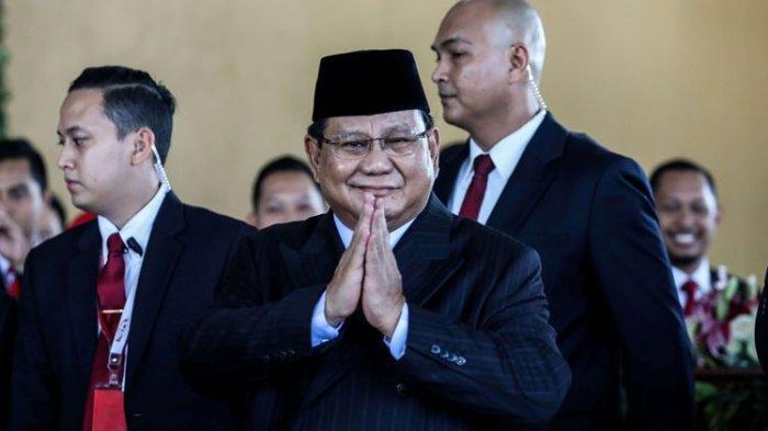 Prabowo Jadi Menteri Pertahanan