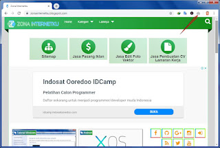 Screenshot Panjang Di Web Browser