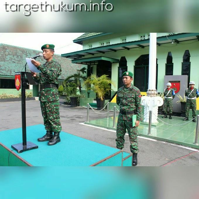 Prajurit TNI Harus Paham UPC Minggu Militer Dalam Jiwa Patriot