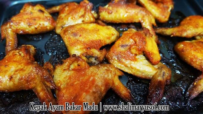 Resepi Kepak Ayam Bakar Madu