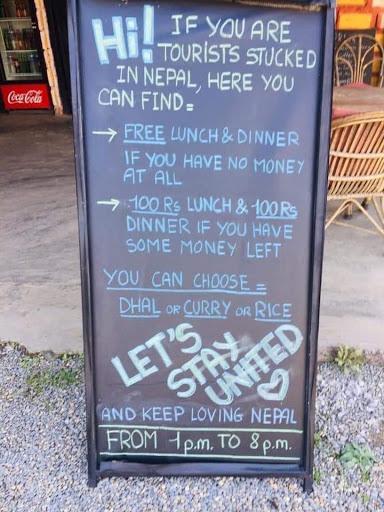 signboard in nepal
