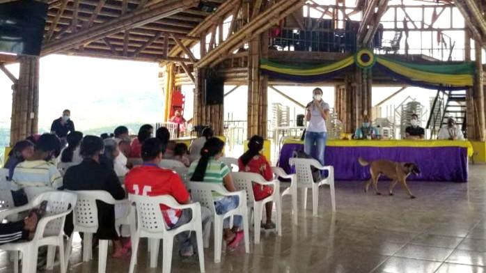 En el resguardo indígena Suratena inició la consulta previa para el POMCA del río Campoalegre