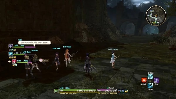 Screenshot Gameplay Sword Art Online Hollow Realization