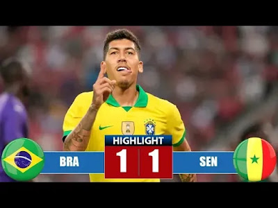 Brazil vs Senegal 1-1 All Goals And Match Highlights [MP4 & HD VIDEO]