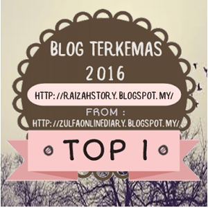 Alhamdulillah TOP 1 for TOP BLOGGER by Nurzulfa