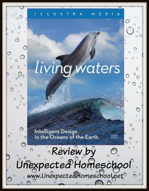 Unexpected Homeschool Review: Living Waters: Intelligent Design in the Oceans of the Earth - a well made argument FOR intelligent design.