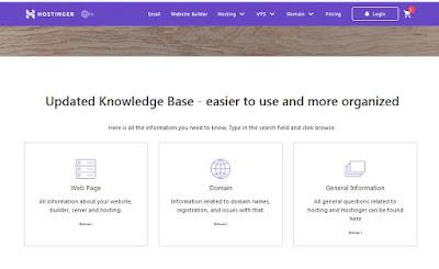 Hostinger knowledge base