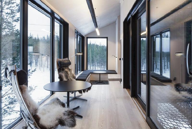 Ampliamento del Treehotel con la 7th room di Snøhetta