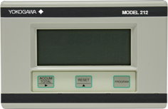 Operator interface of Yokogawa Model 212 Heat Calculator for process monitoring