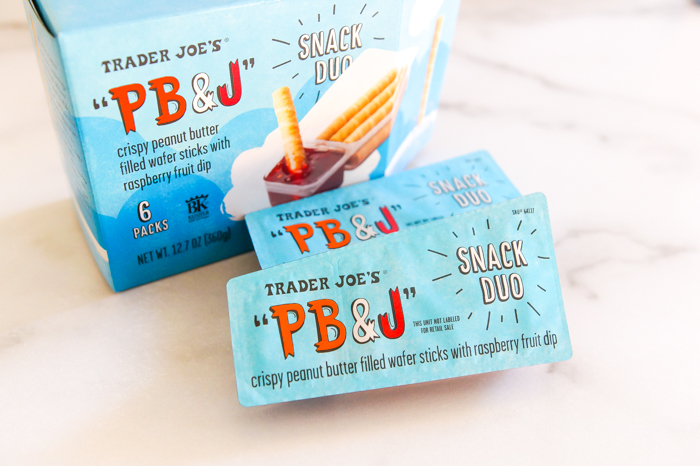 trader joe's pb&j snack duo review