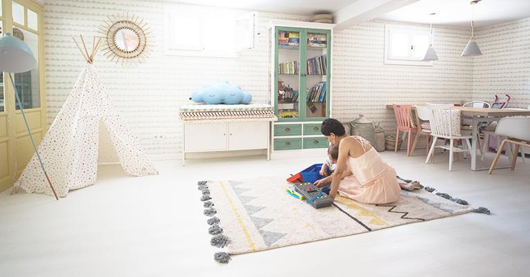 casa de los sueños balamoda decoración sotano y sala de juegos