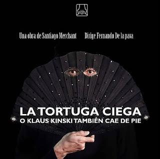 Poster LA TORTUGA CIEGA o Klaus Kinsky También Cae De Pie