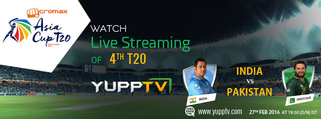 India vs Pakistan Live Match