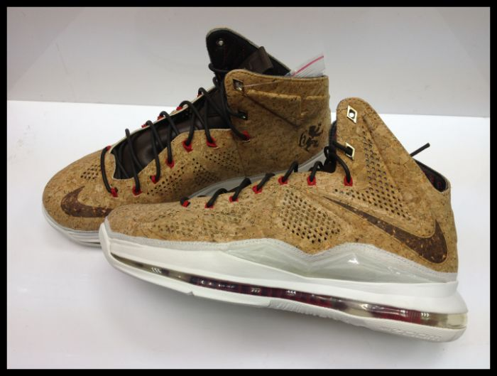 needed for these  Live in hand photos of the most coveted Nike Lebron    Nike Lebron X Cork Box