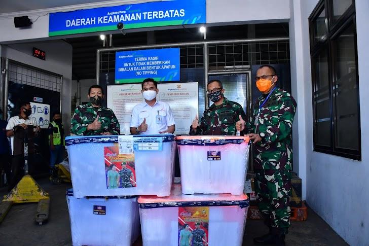 Empat RSAD Kodam XIV Hasanuddin, Dapat Bantuan Almatkes dari Kasad