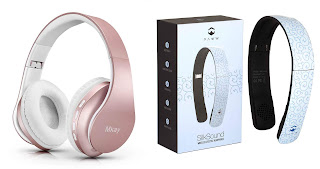unique gift ideas for women and girls Bluetooth headphone