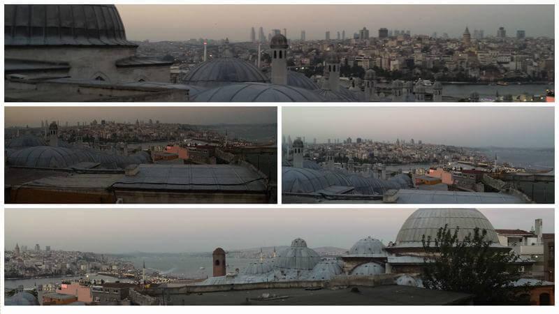 Que Es Un Baño Turco:Las vistas de la ciudad son muy recomendables y yo me lo apunto como
