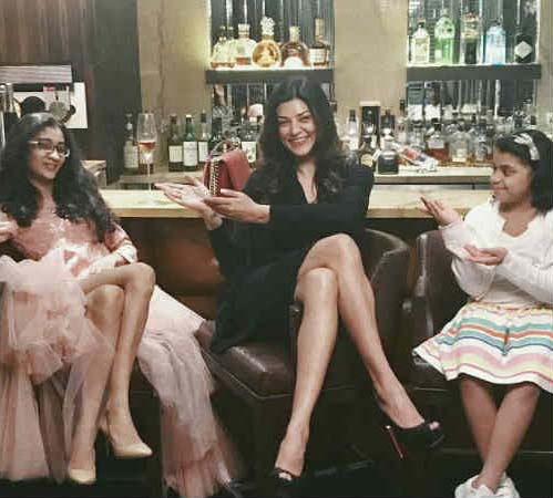 Actress Sushmita Sen Celebrates Her Daughter Renee's 18th Birthday