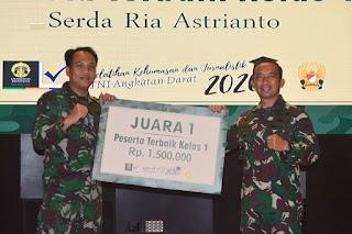Serda Ria Astrianto Raih Juara 1 Dalam Pelatihan Kehumasan Dan Jurnalistik