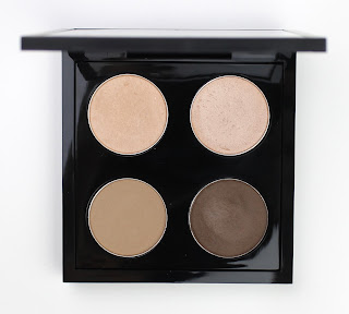 MAC eye shadow eyeshadow pro palette 4 pans Grain Naked Lunch Wedge Mystery travel quad