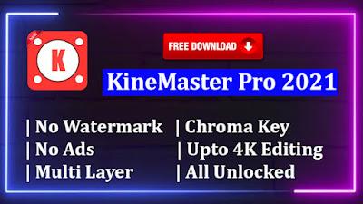 Download Free KineMaster Pro Mod APK 2021 [Fully Unlocked]