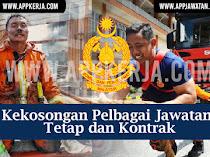 Jawatan Kosong Terkini di Jabatan Bomba dan Penyelamat Malaysia (JBPM)