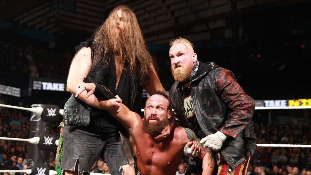 WWE cancelou retorno da SAnitY