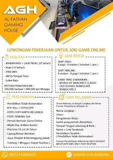 Lowongan kerja game online Bandung terbaru 2020