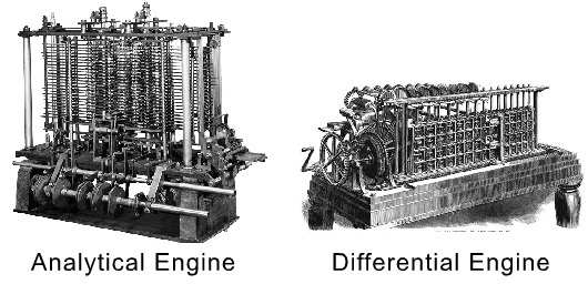 Analytical and Differential Engine