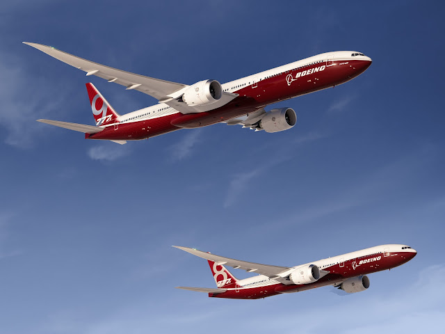 Boeing 777X Series Preliminary Exterior Design