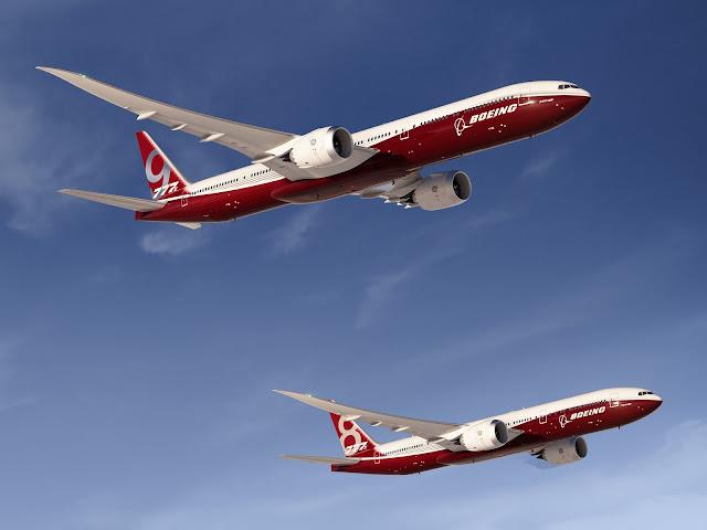 Boeing 777X Series Preliminary Exterior Design
