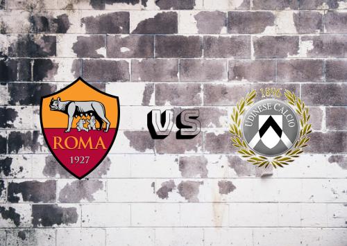 Roma vs Udinese  Resumen