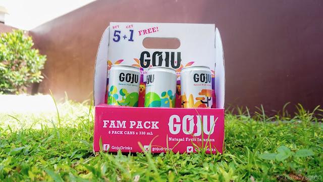 goju juice drink