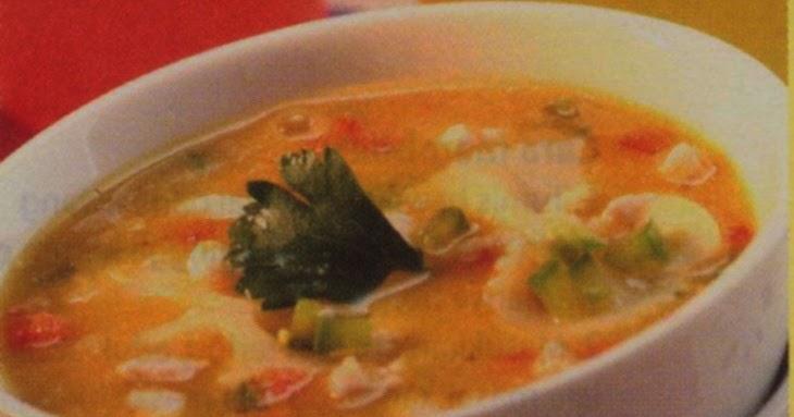 Resep Sup Untuk Bayi : Sup Ubi Farfalle